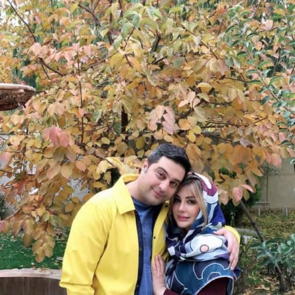 نیوشا ضیغمی و همسرش آرش پولادخان