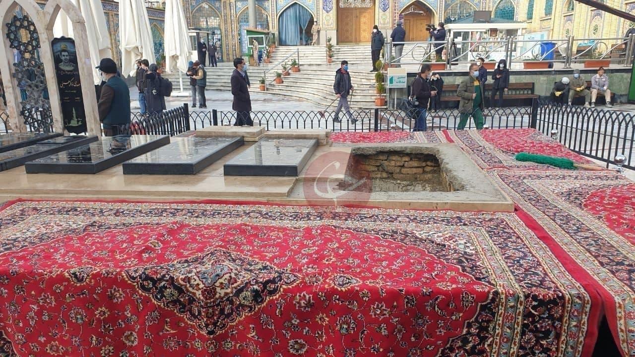 محل تدفین شهید فخری زاده - امام زاده صالح(ع)