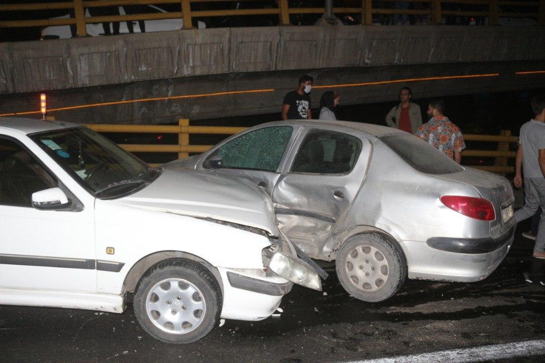 تصادف بزرگراه امام علی