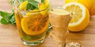 نوشیدنی زنجبیل لیمو