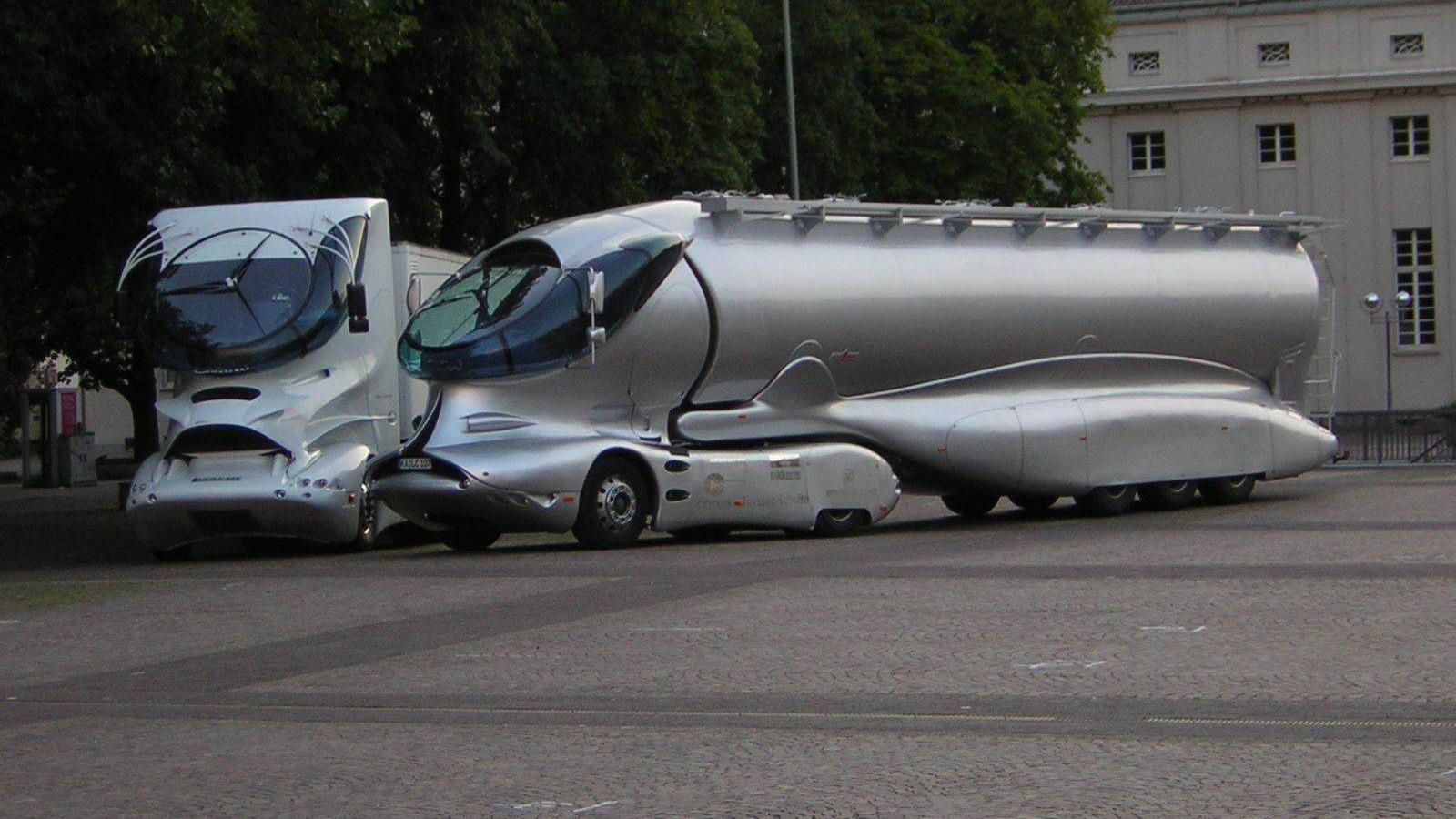 عجیب ترین کامیونها در دنیا (12)