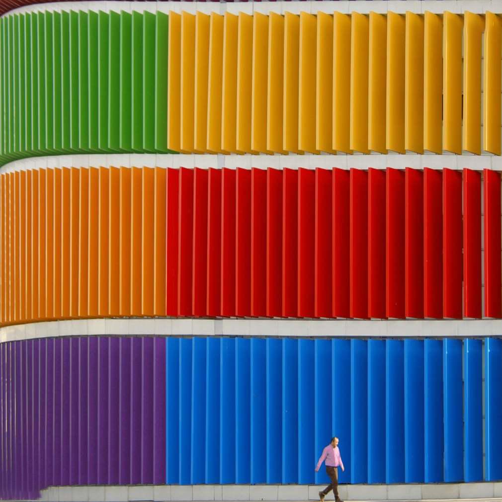 ساختمان رنگی 7