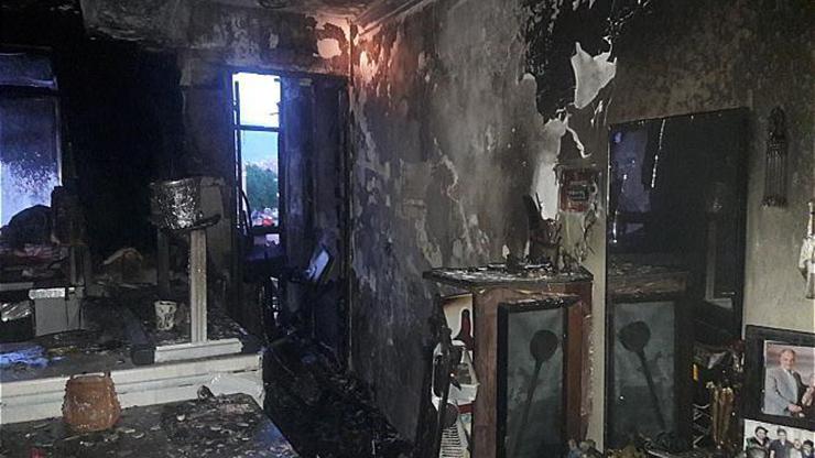 آتش سوزی واحد مسکونی در خیابان شریعتی
