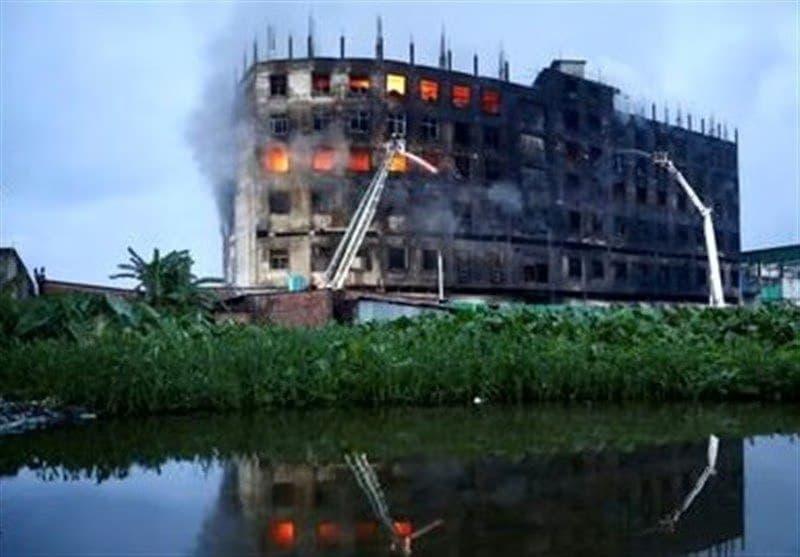 آتش سوزی کارخانه (3)