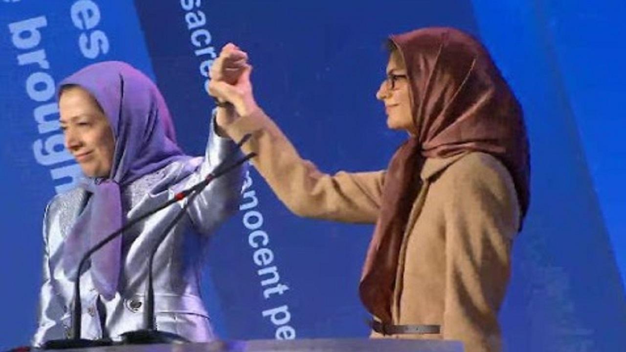 شبنم مددزاده مریم رجوی