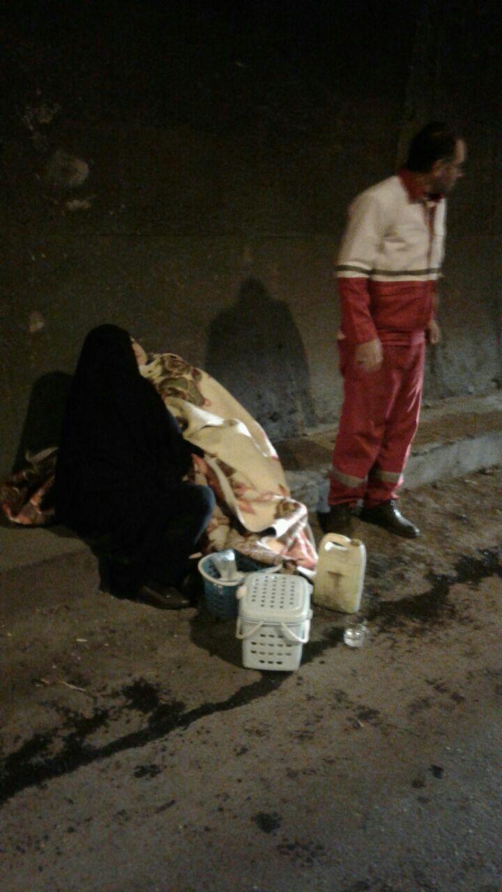 تصادف در جاده تبریز