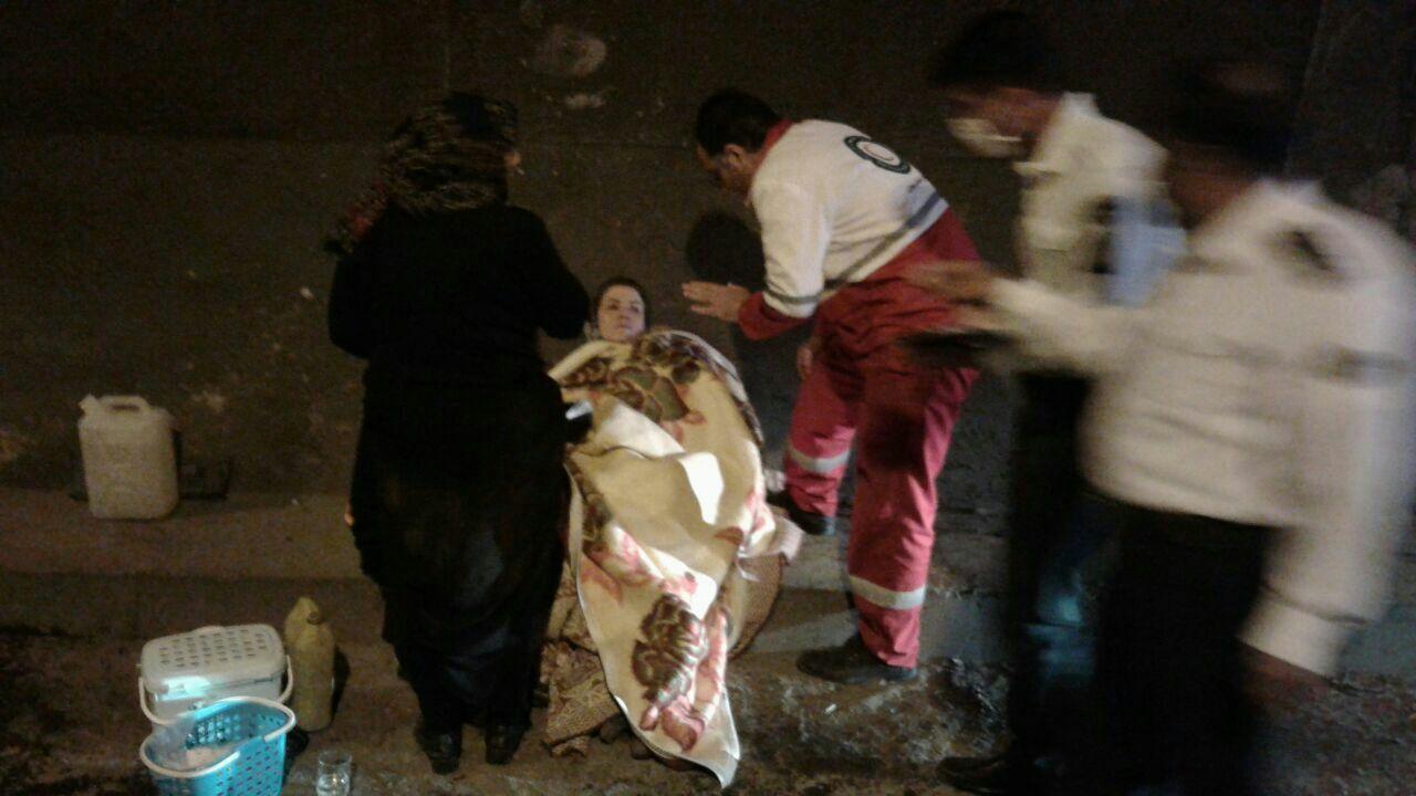 تصادف در تبریز