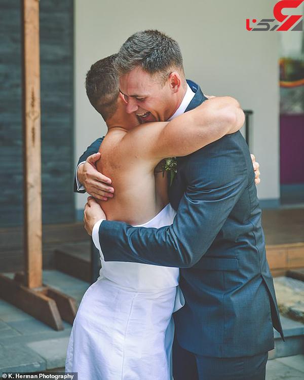 عکس غافلگیری عروس (2)