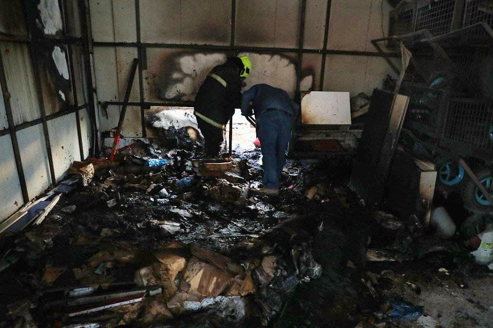 آتش سوزی مشهد (2)