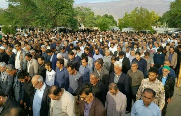 تشییع پیکر خبرنگار خبرگزاری فارس