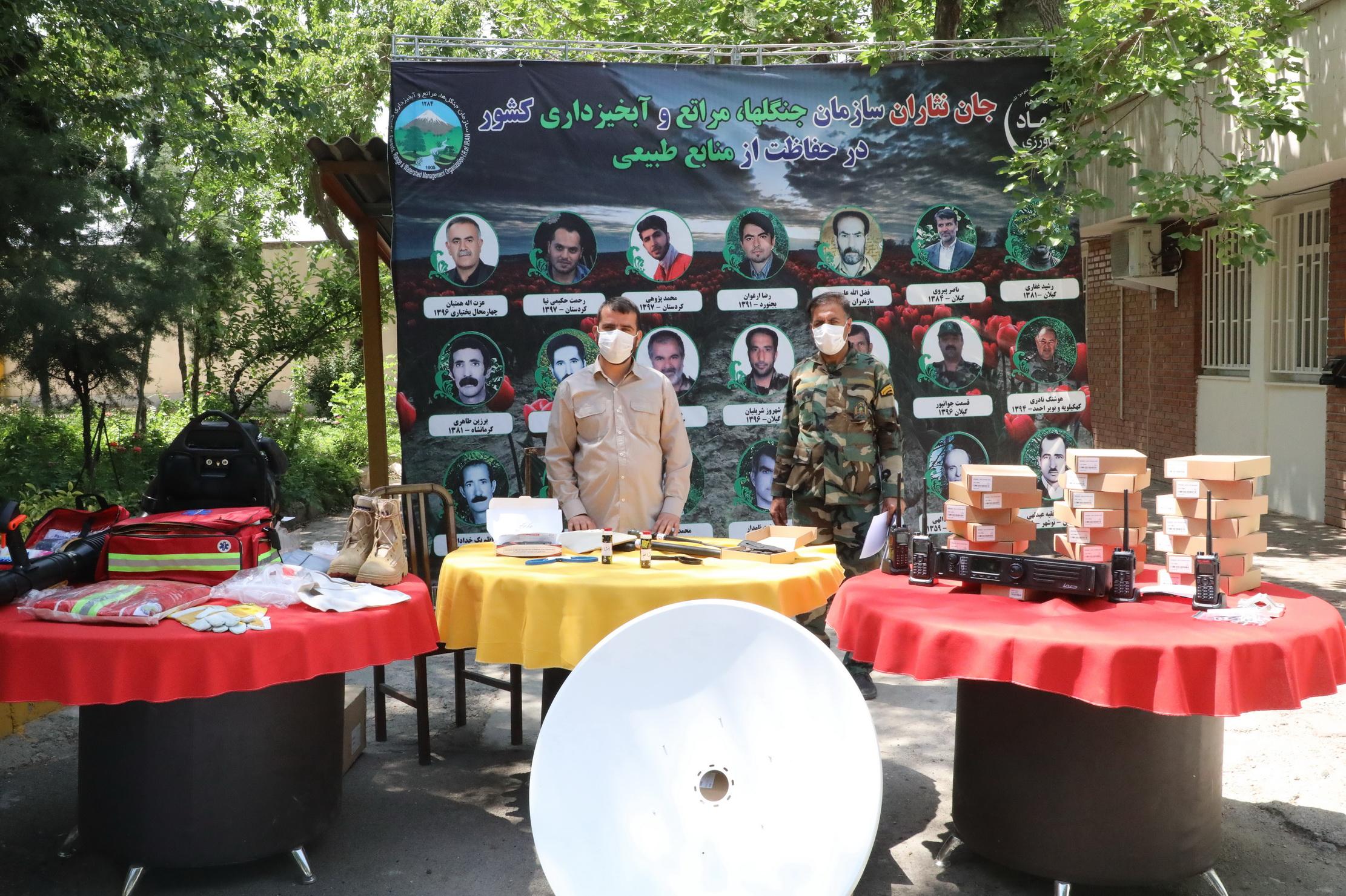 ارسال تجهیزات اطفای حریق جنگل ها به 24 استان 5