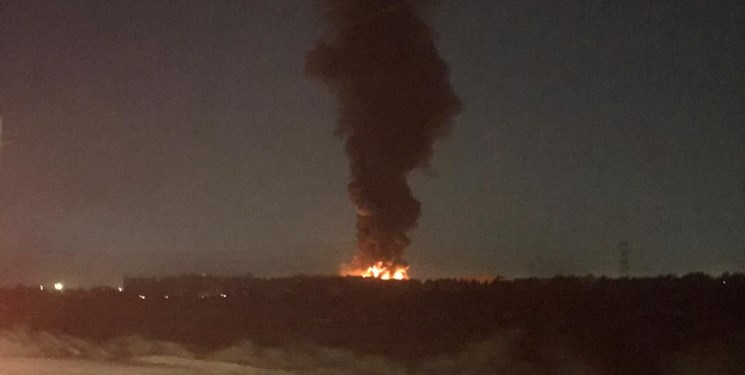 آتش سوزی کارخانه میهن