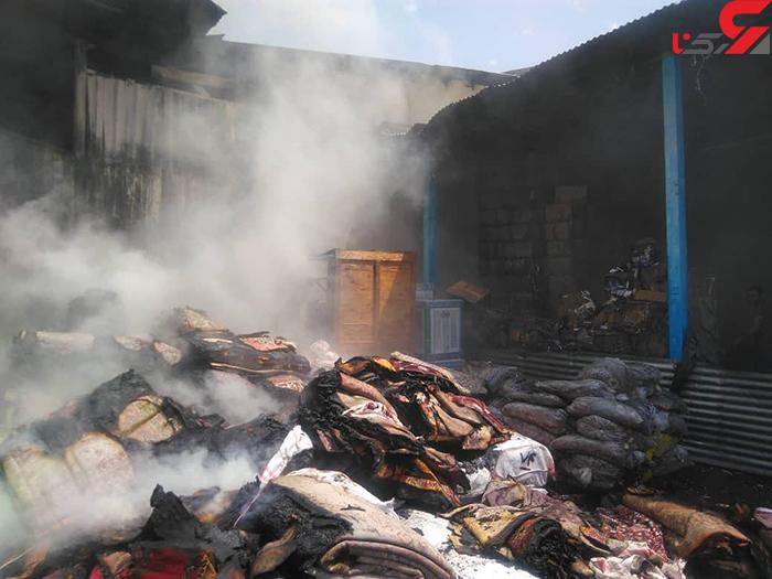 آتش سوزی فداییان اسلام (2)