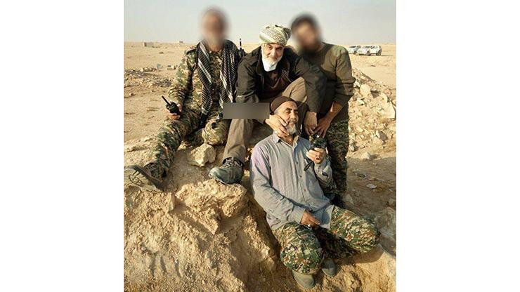 تصویری از سپهبد سلیمانی پس از فتح آخرین دژ داعش در «البوکمال»