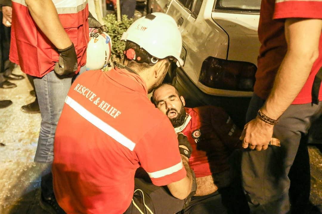 انفجار شمال تهران سینا اطهر تجریش