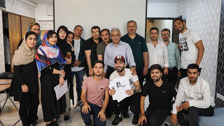 روز خبرنگار در رکنا