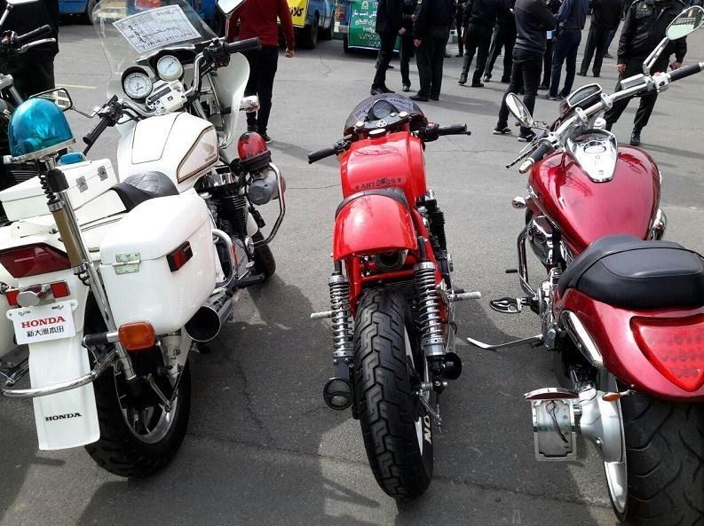 کشف موتورسیکلت قاچاق2