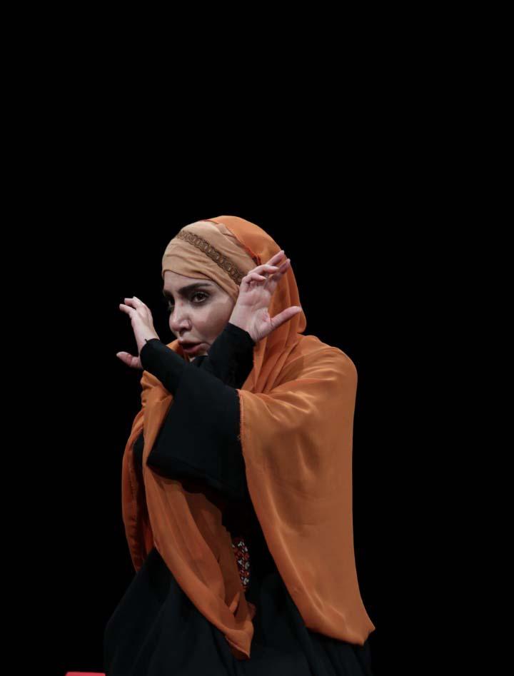 لیلا بوشهری، بازیگر نقش «طوعه»، در اثر محرمی حوزه هنری، از او می گوید