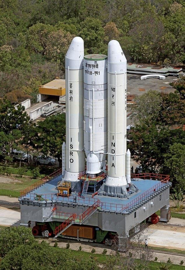 هند هفته آینده به ماه می رود
