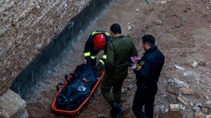 یک کشته در ریزش آوار در قم