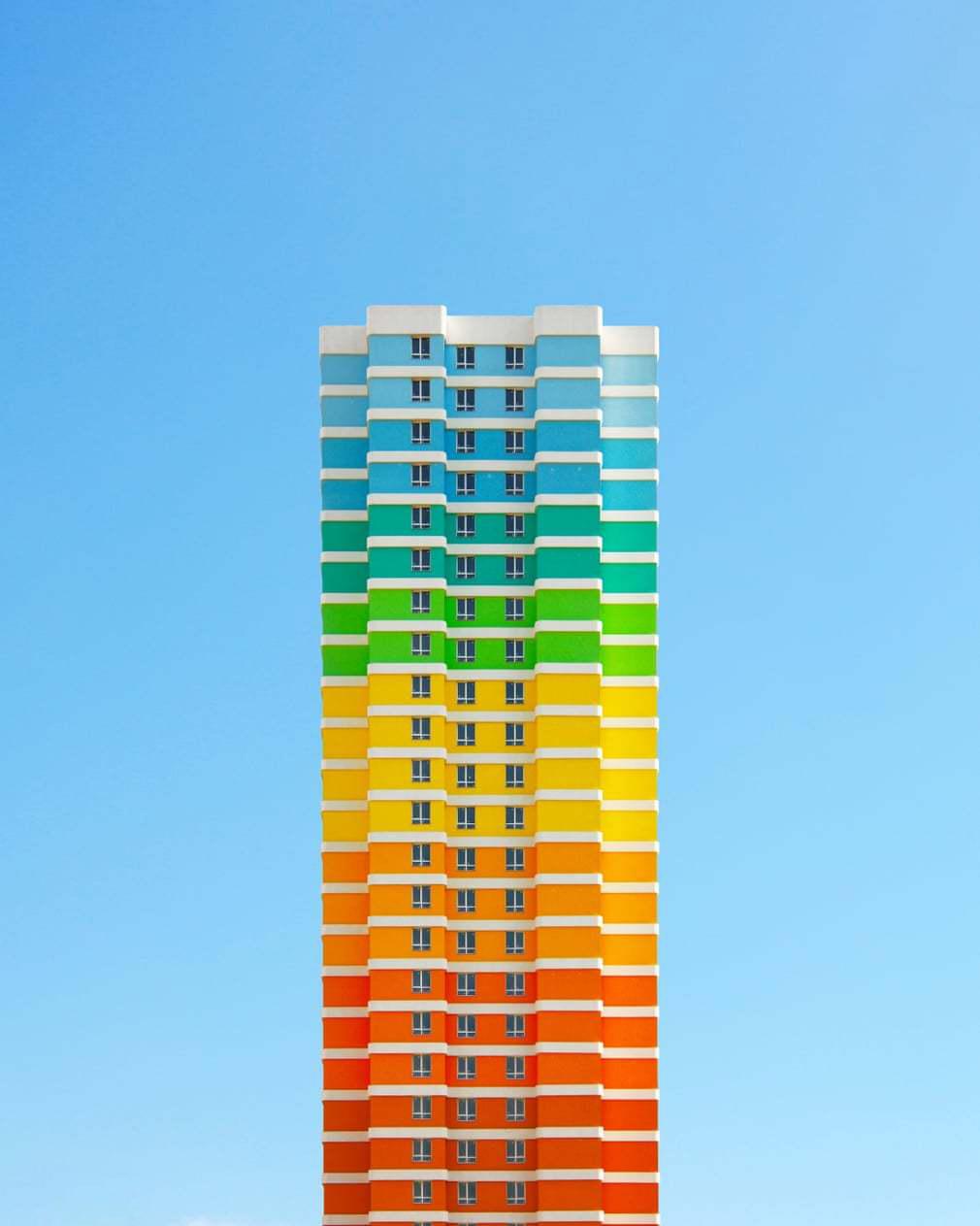ساختمان رنگی 5