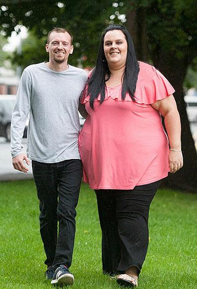زن چاق/ لاغری