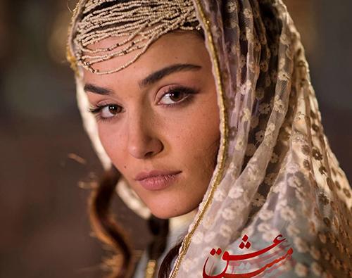 هانده ارچل زیباترین خانم بازیگر ترکیه همبازی 3 ایرانی سرشناس + عکس ها