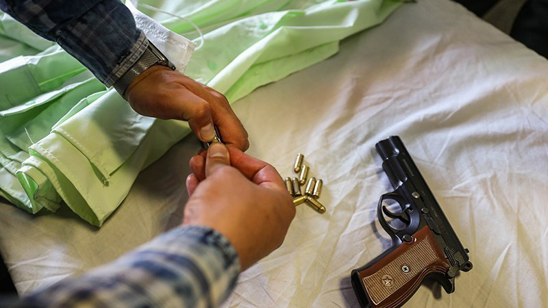 زورگیری مسلحانه
