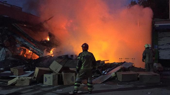 آتش سوزی صالح آباد غربی (2)