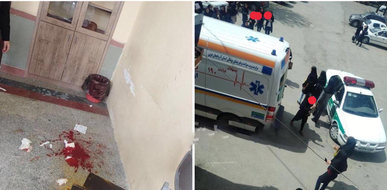 دعواى دختران یکى از دانشگاه هاى ارومیه پاى پلیس و آمبولانس را به دانشگاه باز کرد