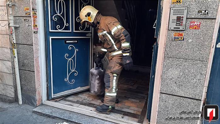 انفجار گاز مایع در خانه شهرری