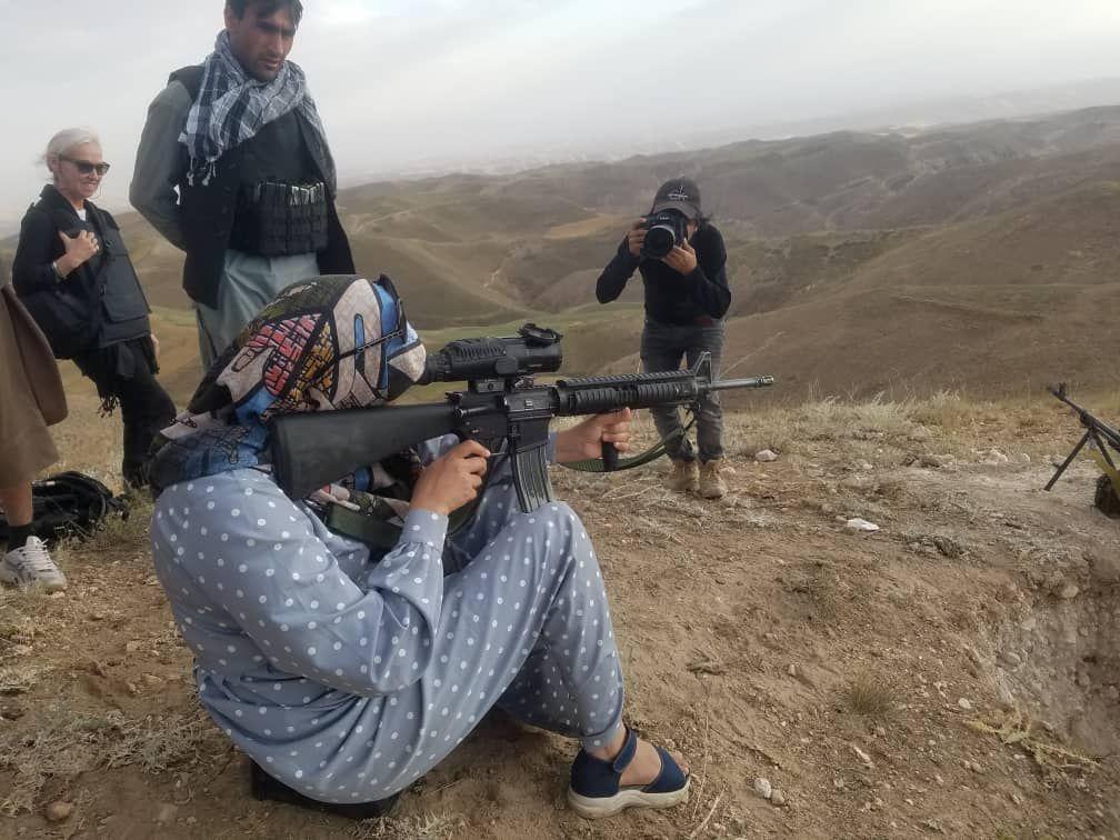 سلیمه مزاری زن مبارز با طالبان 6