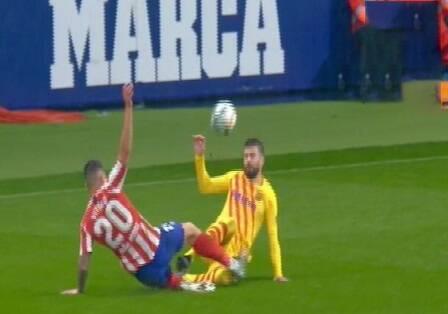 پیکه بارسلونا مصدوم