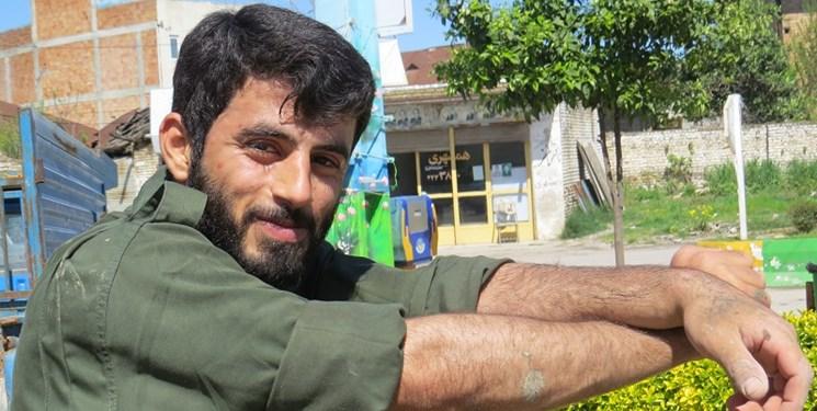 شهید سعید کمالی مدافع حرم