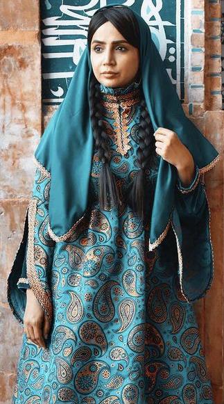 لباس قدیمی شبنم قلی خانی