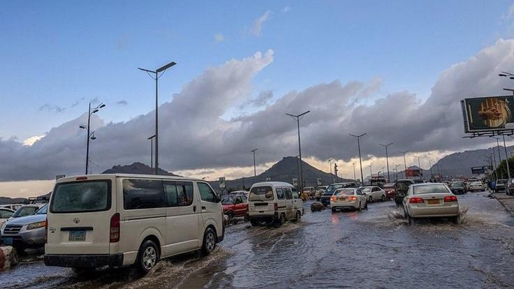 سیل شدید در صنعاء