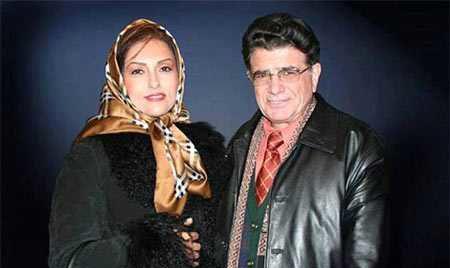عکس زیر خاکی از محمدرضا شجریان و همسر اولش + عکس دیده نشده