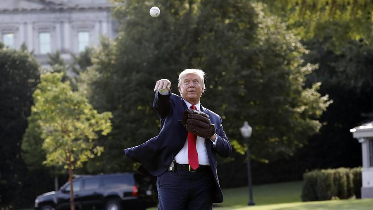 ترامپ بیسبال