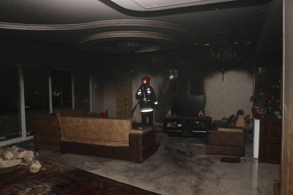 آتش سوزی خانه