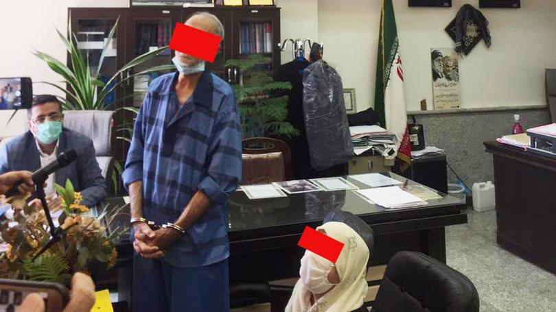بازسازی صحنه قتل بابک خرمدین و خواهرش دیروز در شهرک اکباتان + عکس لحظه حضور پدر و مادر در قتلگاه