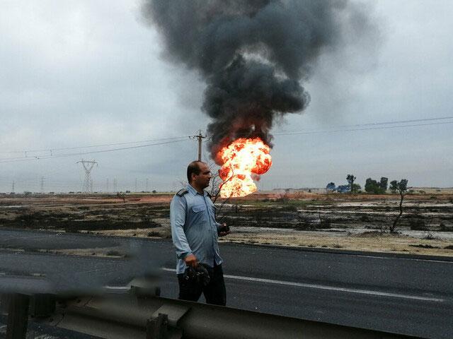 فرسودگی، علت انفجار خطوط لوله گاز در اهواز/ حادثه دیدگان از کاروان راهیان نور نبودند