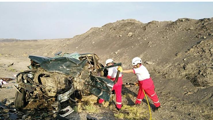 ۵ کشته و ۷ زخمی در حادثه محور طبس – یزد