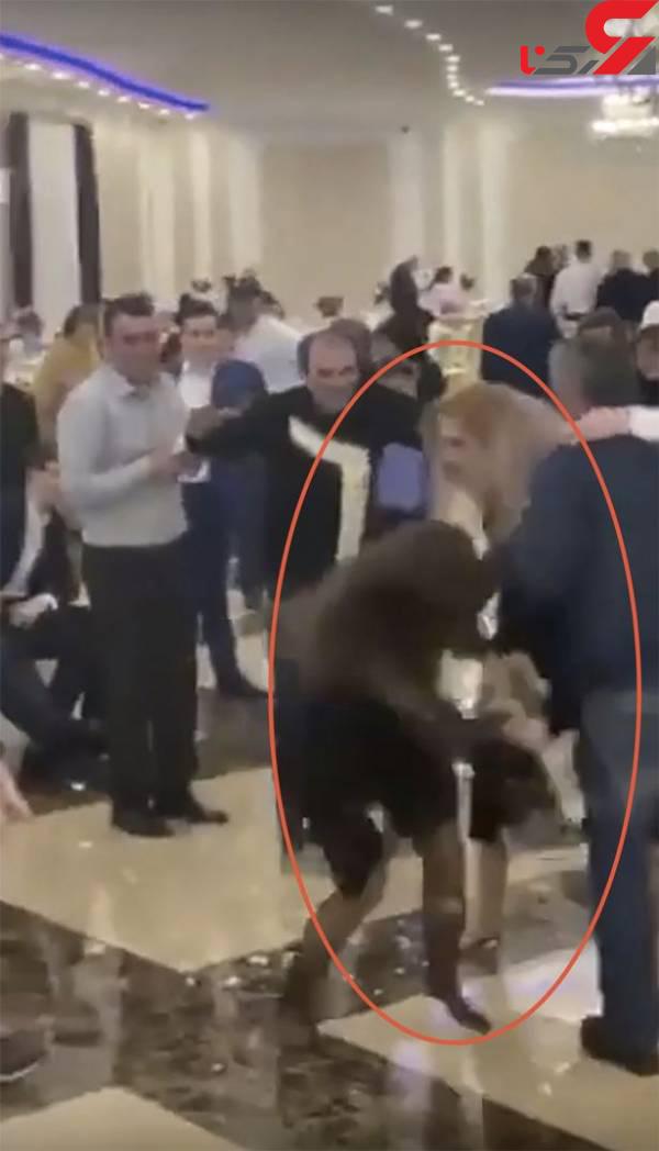 عکس درگیری شدید در عروسیjpg (4)