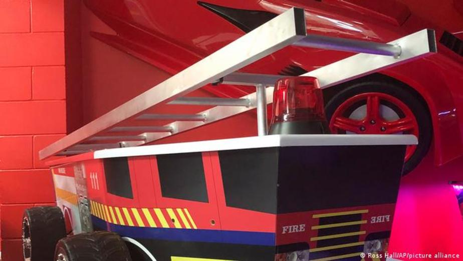 تابوت ماشین آتش نشانی