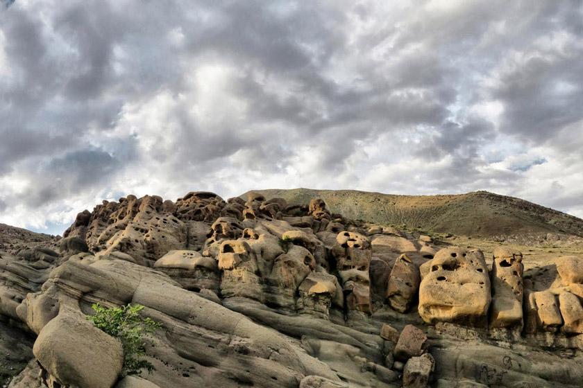 از روستای ارواح سنگی تهران چه می دانید؟!