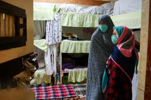 آزادی مادر زندانی