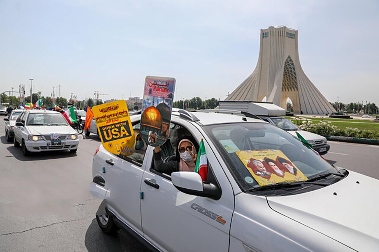 حال و هوای روز جهانی قدس در تهران