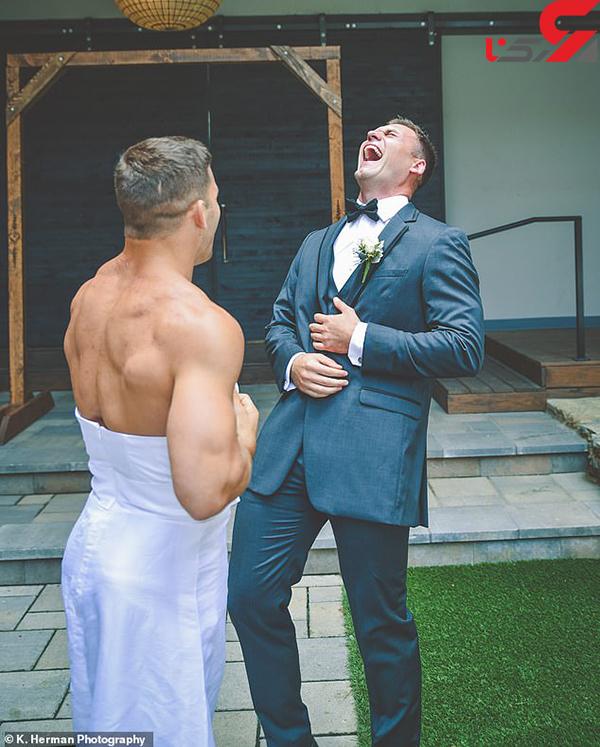 عکس غافلگیری عروس (1)