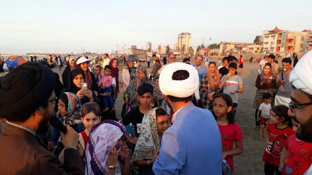 منبر ساحلی عید فطر در مازندران