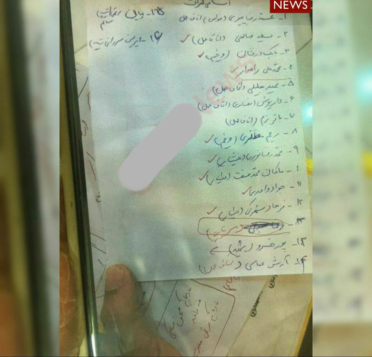 اسامی پرسنل شهید و مجروح ناوچه کنارک ارتش